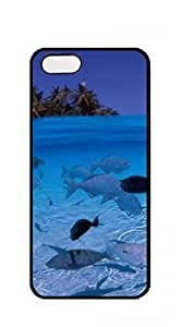 TUTU158600 Original New Print DIY Phone phone case iphone 5s with screen protector - Deep sea fish in shallow water