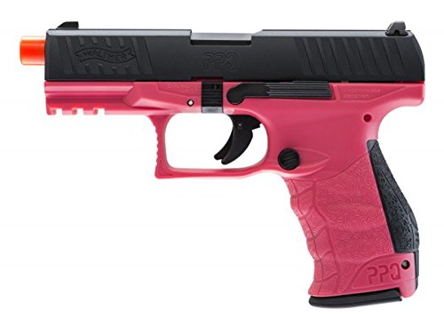 elite force walther ppq gas blowback pistol (wildberry)(Airsoft Gun) (Rifles Blowback Gas)