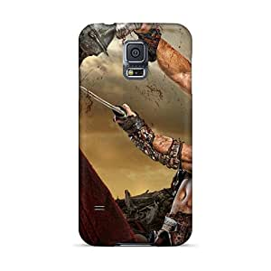 Jenipper Case Cover For Galaxy S5 - Retailer Packaging Spartacus Tv Series Protective Case