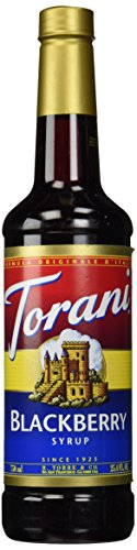 Black Raspberry Liqueur - Torani Blackberry Syrup, 750 ml