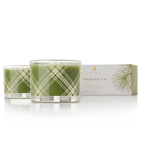 生まれのブランドで Thymes Frasier Fir 2 Aromatic Poured Candle Set Fir 2 x x 3.75 oz by Thymes B0099WB0ZY, 員弁郡:723dc46f --- rcavalcantiadvogados.com.br