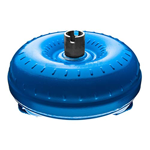 Recon Torque Converter, Non Lock-Up, 12.50'' Overall Diameter, 10.70'' Bolt Pattern, 3 Pad Mount w/No Threads Thread, Slotted Hub, 1.703'' Pilot Diameter, 30 Splines, 1400-1600 Stall Speed