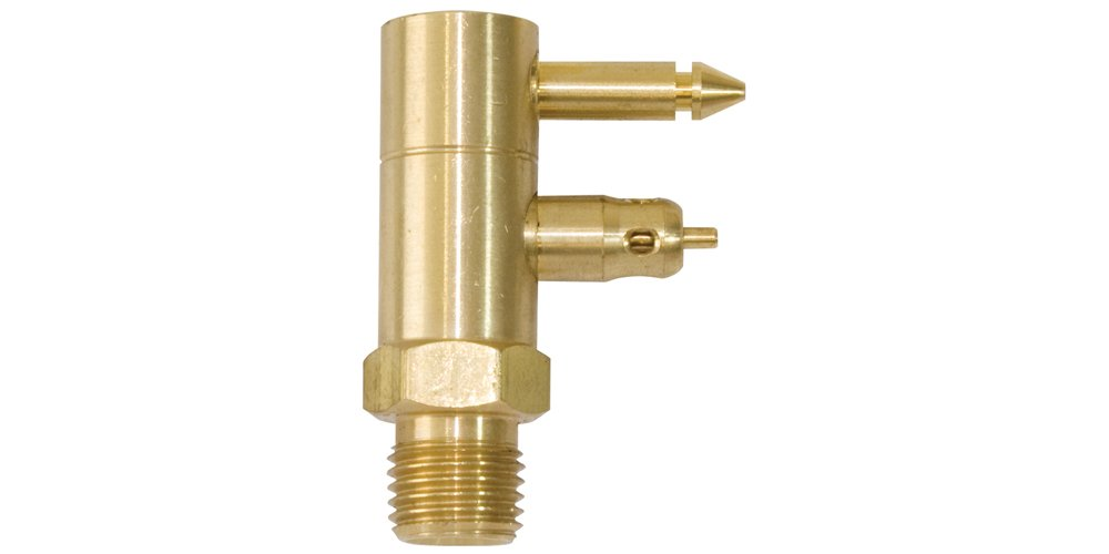 SeaSense Yamaha, Male Tank Connector with male 1/4in NPT, Brass