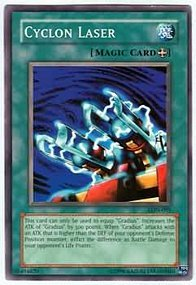 Amazon.com: Yu-Gi-Oh! - Cyclon Laser (LON-095) - Labyrinth ...