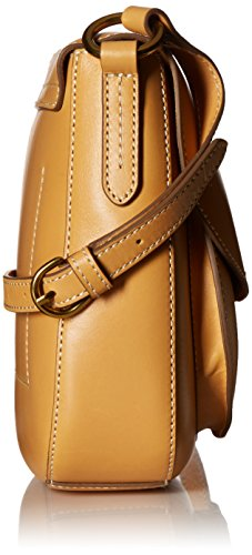 Harness Yellow Leather Bag FRYE Crossbody Saddle wHqdxxBvg