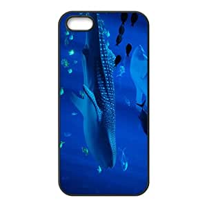 Whale Shark Hight Quality Plastic Case for Iphone 5s