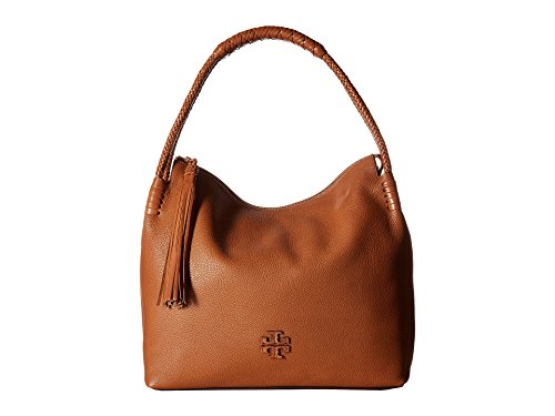 Tory Burch Taylor Pebbled Leather Hobo Bag - Brown Tory Burch Bag