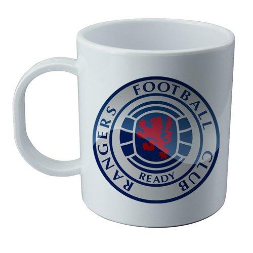 Wallp Glasgow Rangers Becher und Sticker