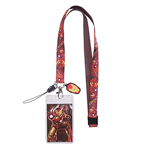Lanyard-Marvel-Iron-Man-Avengers-New-Licensed-68326