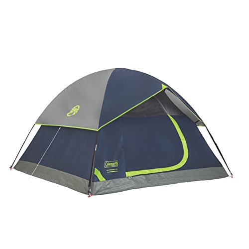Coleman Sundome 4-Person Dome Tent, Navy/Grey
