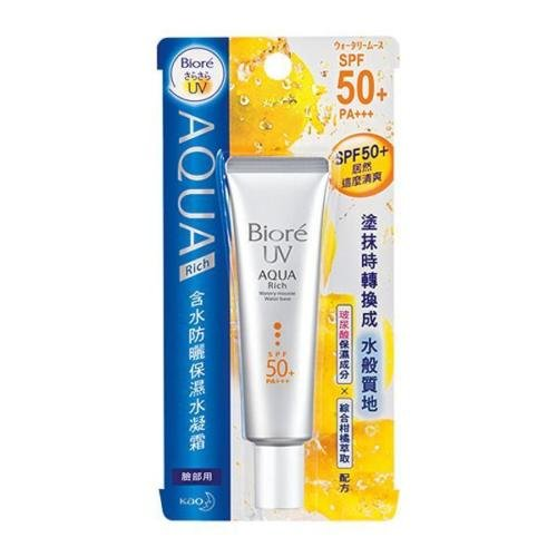 KAO Biore UV AQUA Rich Watery Mousse Water Base Spf50+ Pa+++