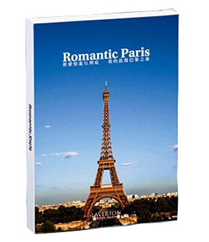 World Beauty Places Postcard Post Card Pack Depicting World Travel-Roman Paris