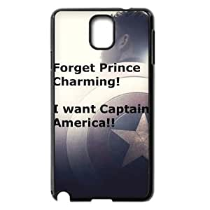 Hjqi - DIY Captain America Cell Phone Case, Captain America Custom Case for Samsung Galaxy Note 3 N9000