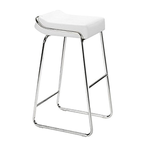 Zuo Wedge Bar Chair (Set of 2), White
