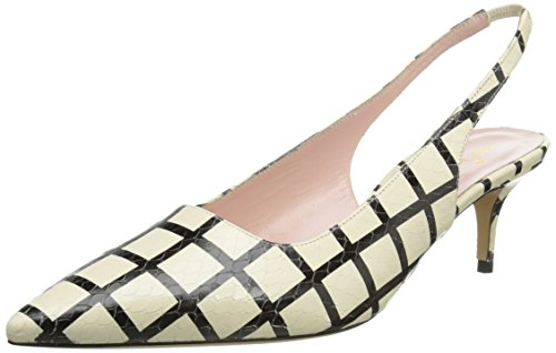Kate Spade New York Womens Magel Dress Pump Cream / Nero