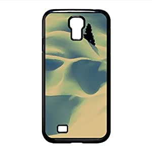 Snow Desert Watercolor style Cover Samsung Galaxy S4 I9500 Case (Winter Watercolor style Cover Samsung Galaxy S4 I9500 Case)