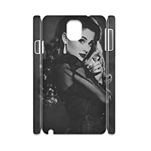 HQYDIY Customised ariana grande 3D Plastic Case, Personalised ariana grande Hard 3D Cell Phone Case for samsung galaxy note3 n9000