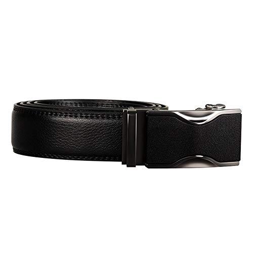 Correa Masculina Aleación Cinturones 115cm Lllm Cuero Para Hombre Masculina De Hebilla 125cm La Cinturón Cintura 0c7cgvST