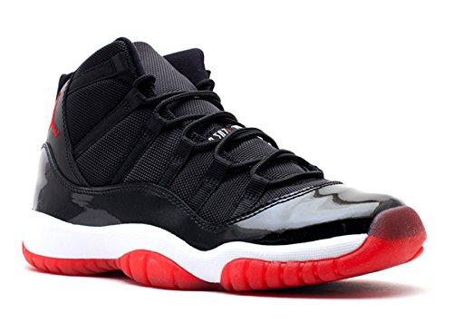 AIR JORDAN 11 BLACK RED (GS) 378038-010 size 4 Y by Jordan