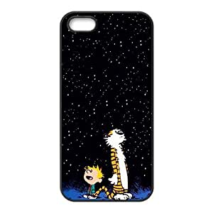 Dark night star boy and tiger Cell Phone Case for iPhone 5S