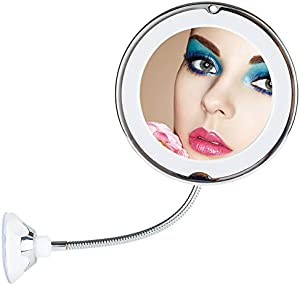 Sweepstakes: 10X Magnifying Flexible Makeup Mirror-TOP4EVER…