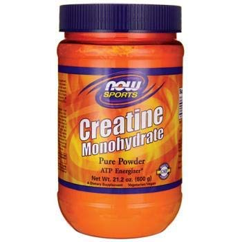 - NOW Foods Creatine Monohydrate Pure Powder