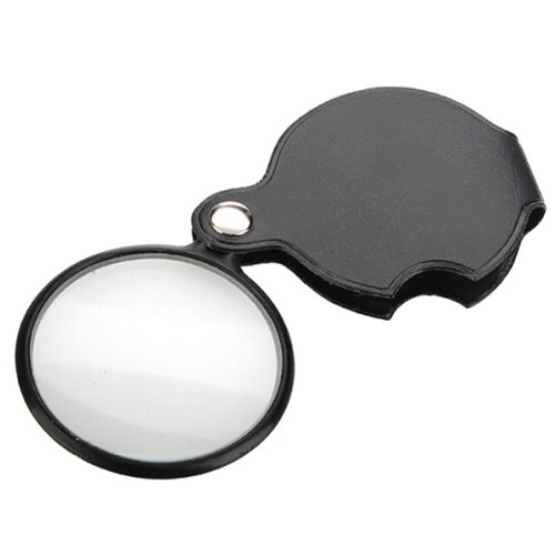 5X Mini Pocket Jewelry Jewellery Diamond Folding Foldable Magnifier Magnifying Eye Glass Loupe Lens Watch Tool