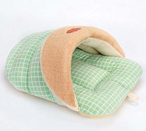 Foldable Puppy Bed Slipper Design Kitten Pekingese Pet Nest Soft Warm Small Dog Rabbit Dog House Mat Waterproof Bottom -