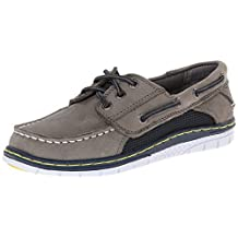 Sperry Top-Sider Billfish Sport Boat Shoe (Little Kid/Big Kid),Grey/Navy,3 M US Little Kid