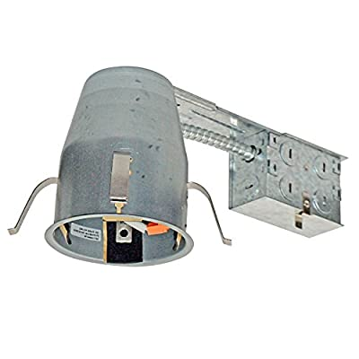 """6 Pieces 4"""" Remodel LED Can Air Tight IC Housing LED Recessed Lighting"""