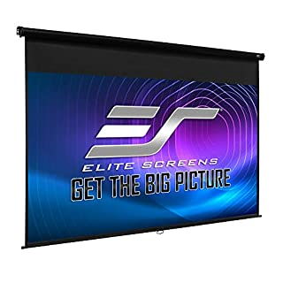 Elite Screens Manual Series, 142-INCH 16:9, Pull Down Manual Projector Screen with AUTO LOCK, Movie Home Theater 8K / 4K Ultra HD 3D Ready, 2-YEAR WARRANTY, M142UWH2 (B01K0PGUKI)   Amazon price tracker / tracking, Amazon price history charts, Amazon price watches, Amazon price drop alerts