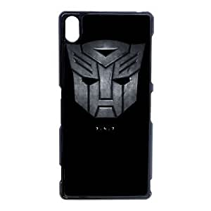 Autobots transformers_006 TPU Case Cover for Sony Xperia Z3 Cell Phone Case Black