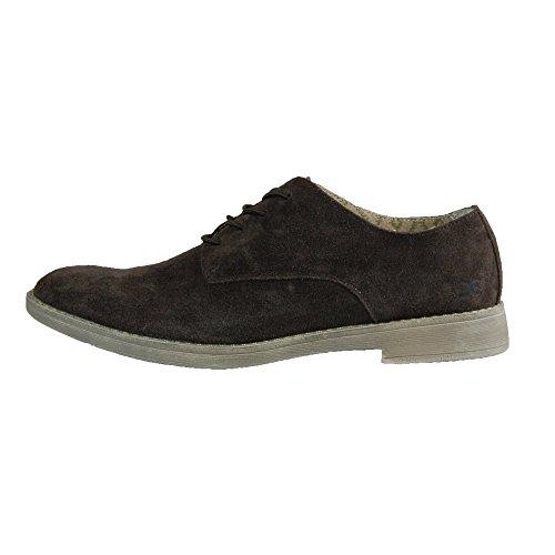 Dude Shoes Men's Volterra Suede Coffee Derby Shoe Brown