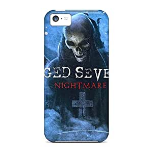 Iphone 5c GUA2700krFX Provide Private Custom Fashion Avenged Sevenfold Band A7X Image Shockproof Hard Cell-phone Cases -AlissaDubois