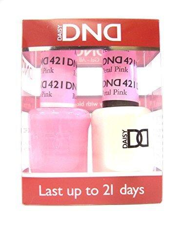 DND *Duo Gel*  Spring Set 421 Rose Petal Pink by DND Gel