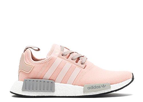 Adidas Originaler Nmd_r1 Dame Kører Undervisere Sneakers Lyserød Grå Hvid y3eO55i