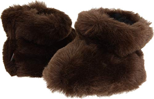 Acorn TEX EASY BOOTIE Slippers for Kids - Brown Bear - Toddl
