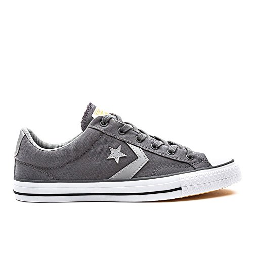 Uomo Converse Star Grigio Ox Player Trainers 87wdwqYz