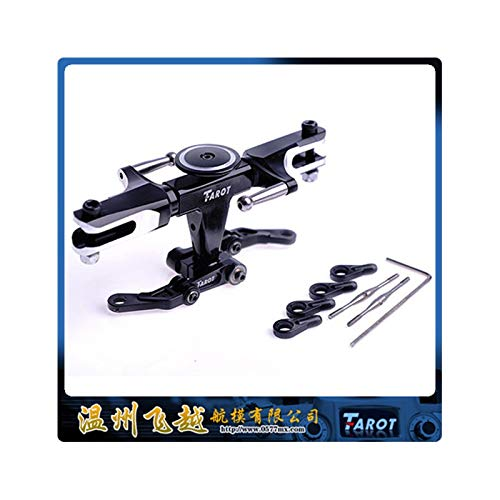 - Yoton Accessories RC 450 PRO Flybarless System Metal Head Rotor Black TL45110-01 for RC Helicopter Accessories
