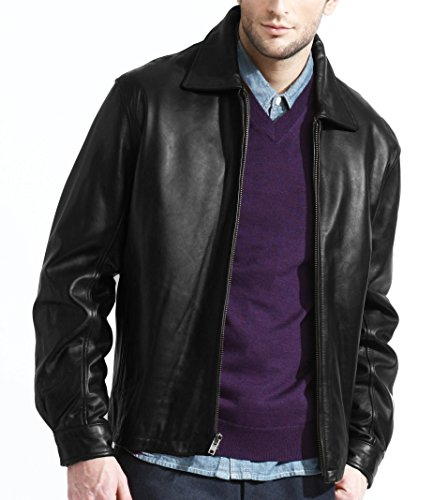 mens-classic-lambskin-black-leather-jacket
