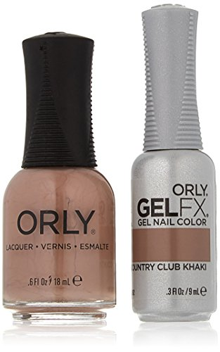 Orly Perfect Pair Matching Lacquer and Gel Duo Kit, Country