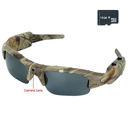 WISEUP 1280x720P Wearable Camouflage Camcorder