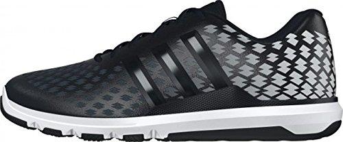 adidas Adipure Primo - Zapatillas de atletismo para hombre, negro / blanco