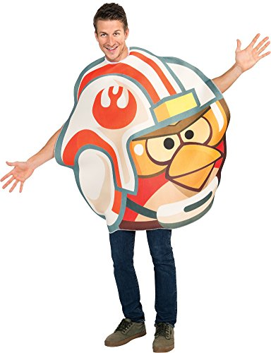Spirit Angry Birds Star Wars Luke Fighter Pilot Angry Bird Costume, One Size Fits Most
