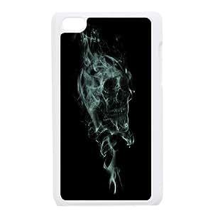 JenneySt Phone CaseSkull Art FOR IPod Touch 4th -CASE-18