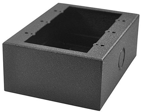 FSR SMWB-3G-BLK 3 Gang Surface Mount Gang Box