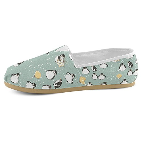 Mocassini Da Donna Di Interestprint Classico Su Tela Casual Slip On Fashion Shoes Sneakers Flat Multi 29