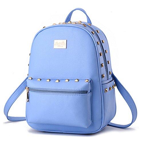 FOLLOWUS - Bolso mochila para mujer, azul oscuro (azul) - G72241H azul celeste