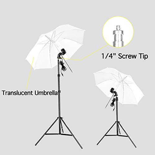 Emart 8.5 x 10 ft Backdrop Support System, Photography Video Studio Lighting Kit Umbrella Softbox Set Continuous Lighting for Photo Studio Product, Portrait and Video Shooting Photography by EMART (Image #3)
