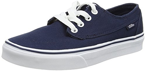 Fabric Shoe True White Ankle Brigata Vans High Skateboarding Dress Men's Blues ZaqUWIw6